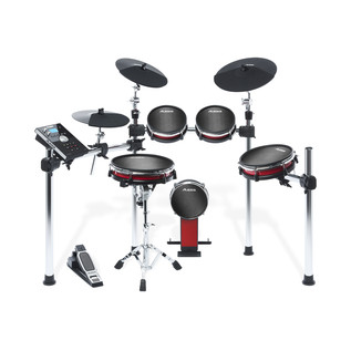 Alesis 5-Piece Crimson Mesh Electric Drum Kit