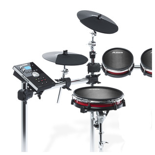Alesis 5-Piece Crimson Mesh Kit