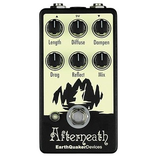 EarthQuaker Devices Afterneath Reverb Pedal Top
