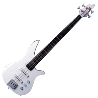 Yamaha RBX4A2 Bass Guitar with A.I.R. body, Aircraft Grey - Front Angled