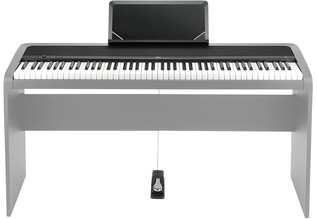 Korg B1 Digital Piano, Black - With Stand (Not included) and Foot Pedal