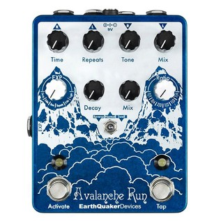 EarthQuaker Devices Avalanche Run Delay and Reverb Top