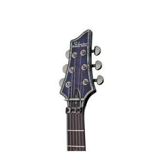 Schecter Hellraiser C-1 FR Electric Guitar,Trans Purple Burst