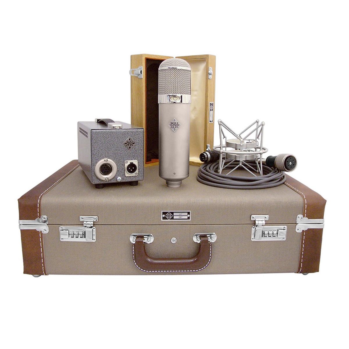 Telefunken U47 Large Diaphragm Condenser Microphone | Gear4music