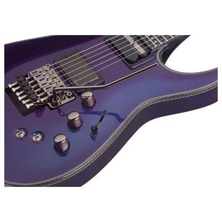Schecter Hellraiser Hybrid C-1 FR SElectric Guitar, Ultra Violet
