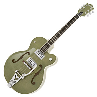 Gretsch G6120SH Brian Setzer Hot Rod, Highland Green 2-Tone