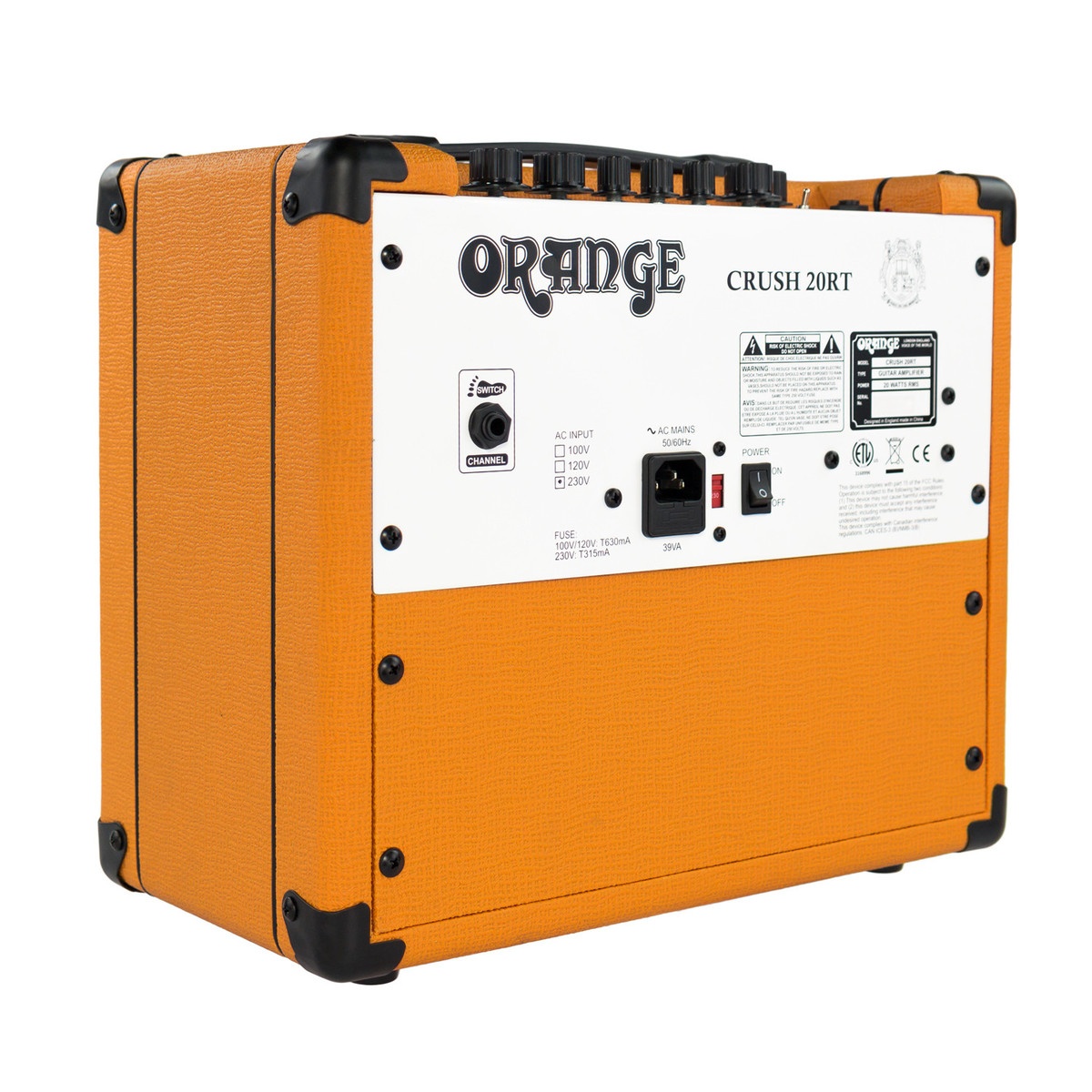Orange Crush 20rt Guitar Combo Amp Box Opened At Gear4music Electroharmonix Soul Preacher Circuit Schematic Design Loading Zoom