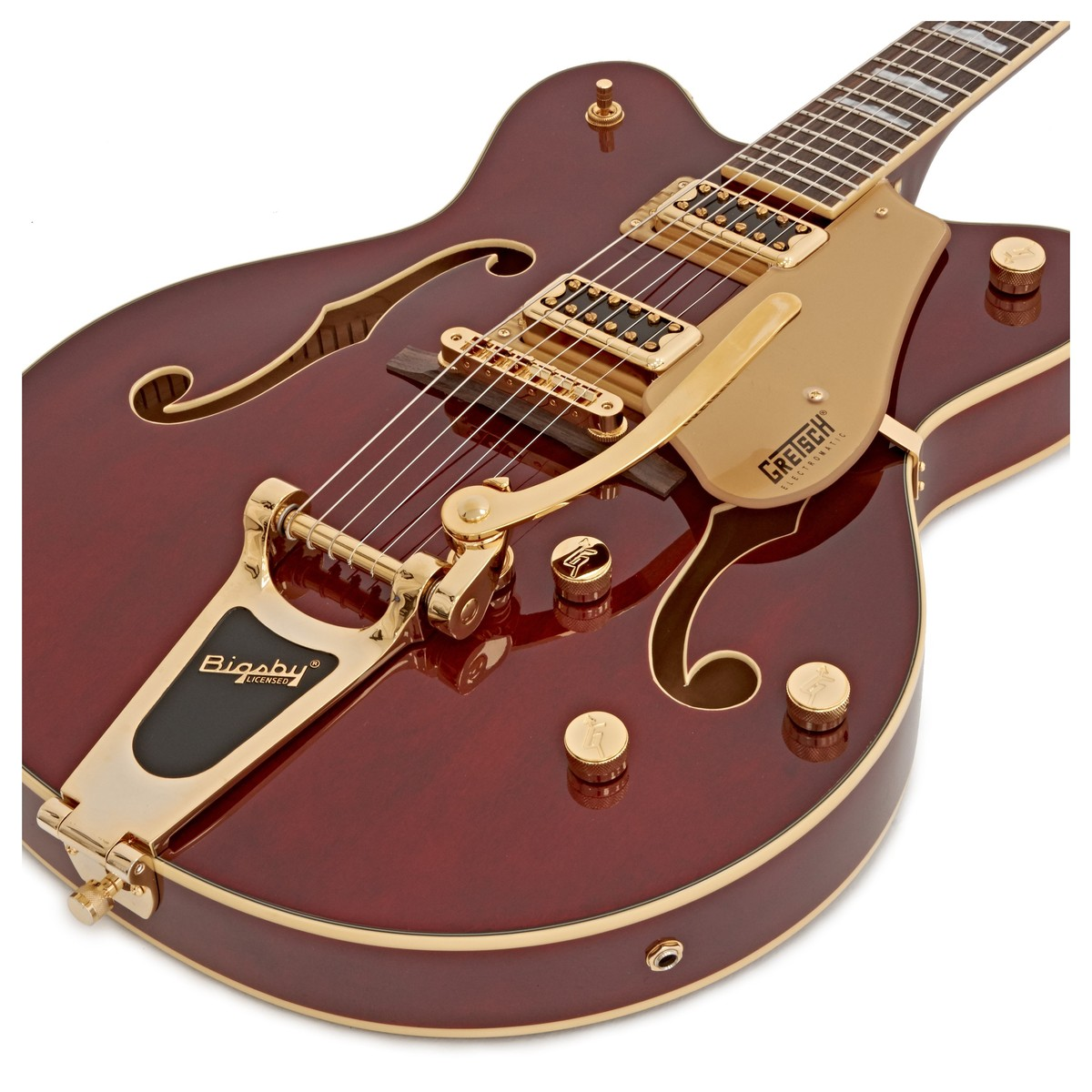 gretsch g5422tg electromatic hollow body guitar walnut stain at