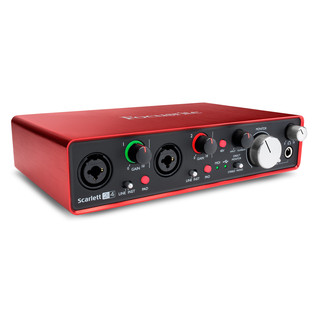Focusrite Scarlett 2i4 MKII - Angled Right