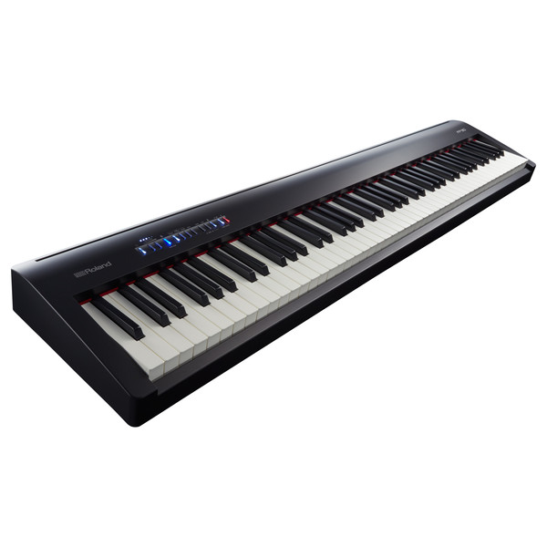 Roland FP-30 Digital Piano with Stand, Stool and Headphones, Black
