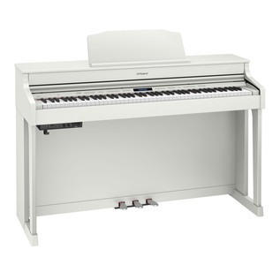 Roland HP603 Digital Piano, Contemporary White