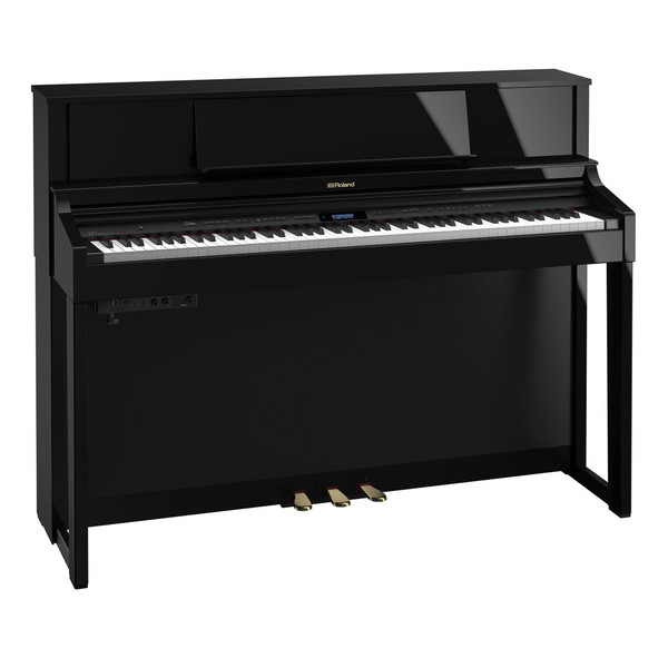 Roland LX7 Digital Piano Package, Polished Ebony