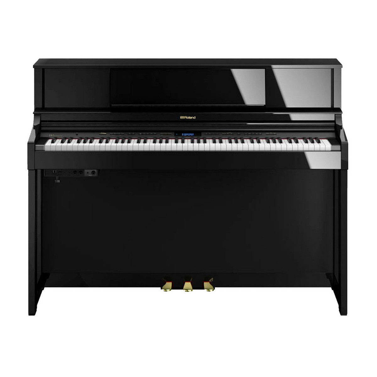 roland lx7 digital piano package polished ebony at gear4music. Black Bedroom Furniture Sets. Home Design Ideas