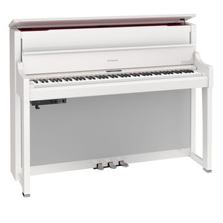 Roland LX17 Digital Piano, Polished White