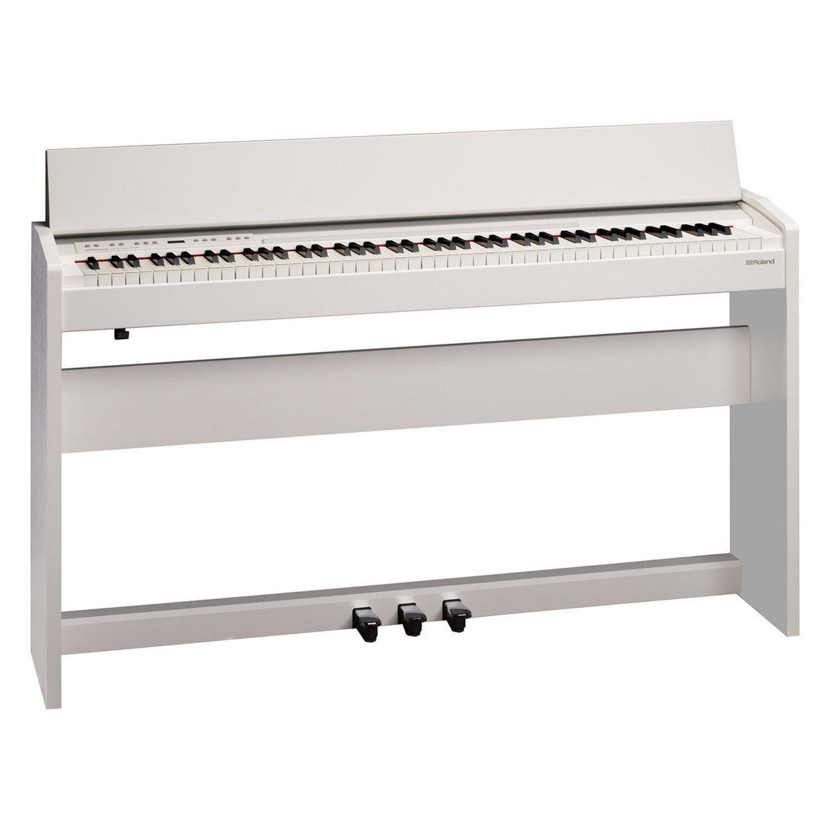 roland f140r digital piano package white at gear4music. Black Bedroom Furniture Sets. Home Design Ideas