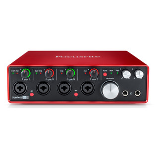 Focusrite Scarlett 18i8 MKII - Front Elevated