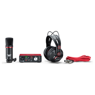 Focusrite Scarlett Solo Studio MKII - Bundle View 3