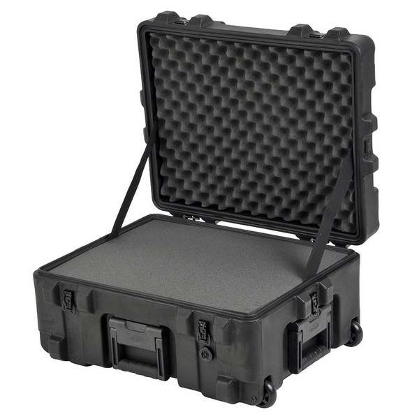 SKB R Series 2217-10 Waterproof Utility Case (With Cubed Foam) - Angled Open
