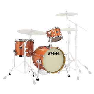 Tama Silverstar Metro Jam Shell Pack, Bright Orange Sparkle