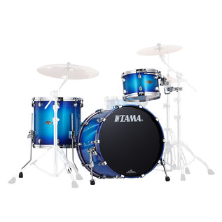 Tama Starclassic Performer B/B 3Pc Shell Pack, Twilight Blue Burst