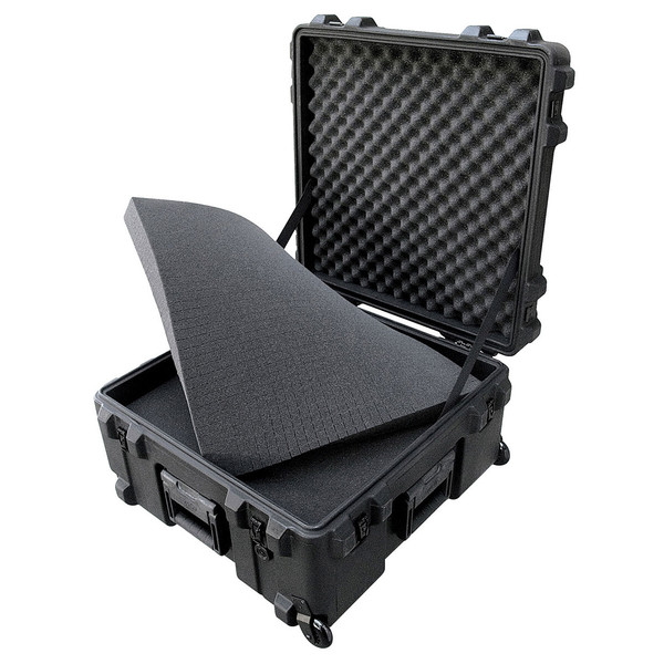 SKB R Series 2222-12 Waterproof Case (With Cubed Foam) - Angled Open