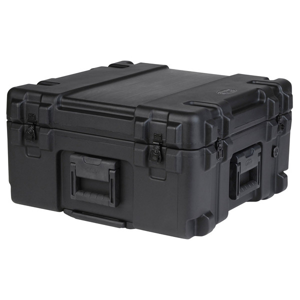 SKB R Series 2222-12 Waterproof Case (With Cubed Foam) - Angled Closed