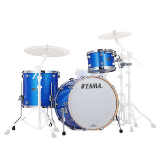 Tama Starclassic Performer B/B 3pc Shell Pack, Vintage Blue Sparkle