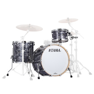 Tama Starclassic Performer B/B 3Pc Shell Pack, Charcoal Oyster