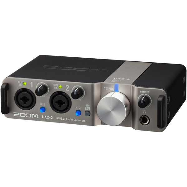 Zoom UAC-2 2-In/2-Out USB 3.0 Audio Interface