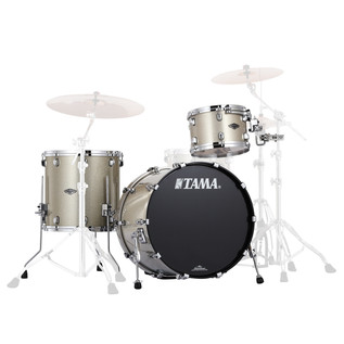 Tama Starclassic Performer B/B 3 Pc Shell Pack, Champagne Sparkle