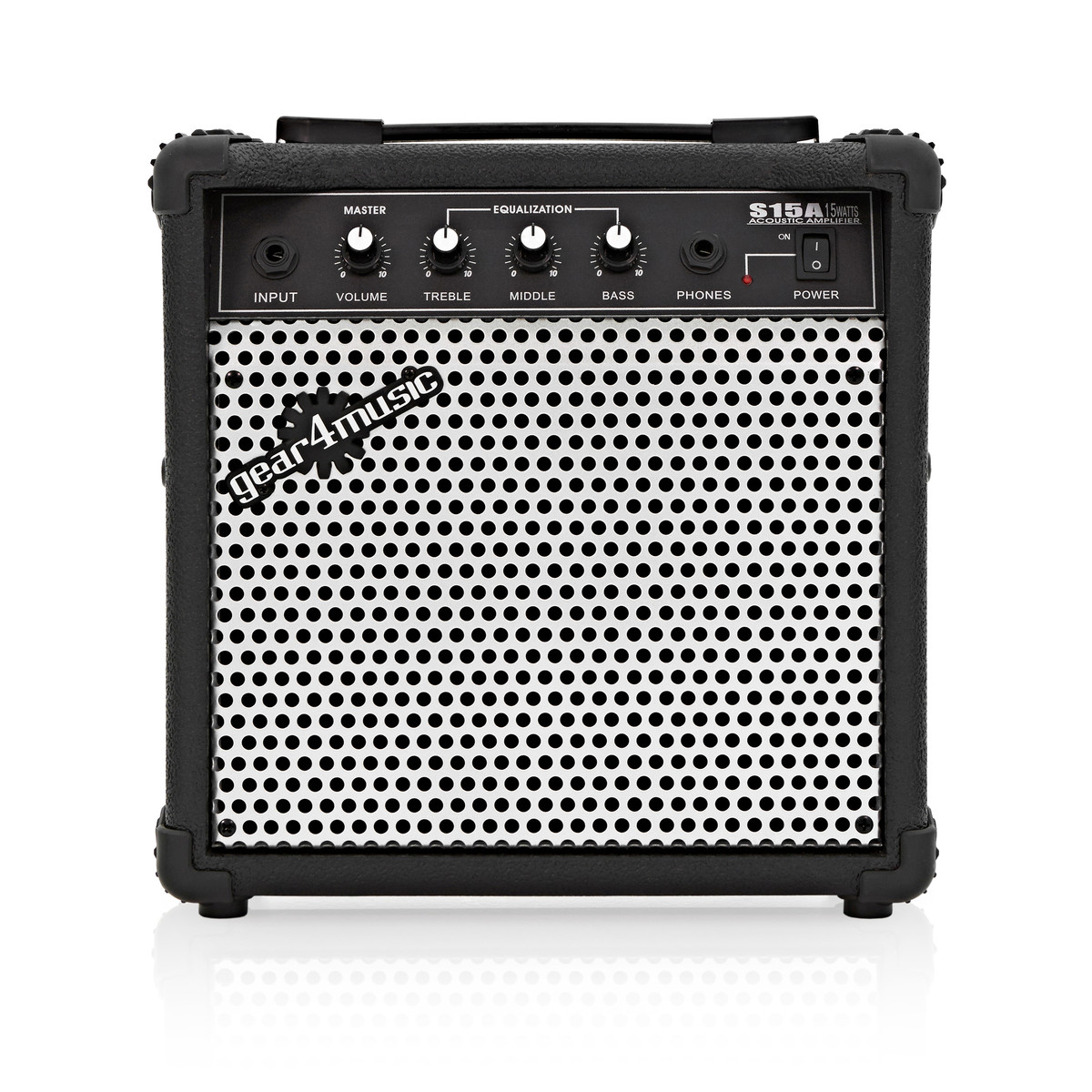 15W Acoustic Guitar Amp by Gear4music - B-Stock