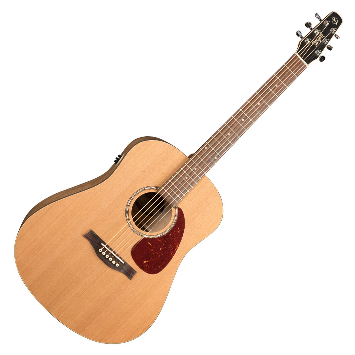 seagull s6 original qi electro acoustic guitar natural w tric case at gear4music. Black Bedroom Furniture Sets. Home Design Ideas