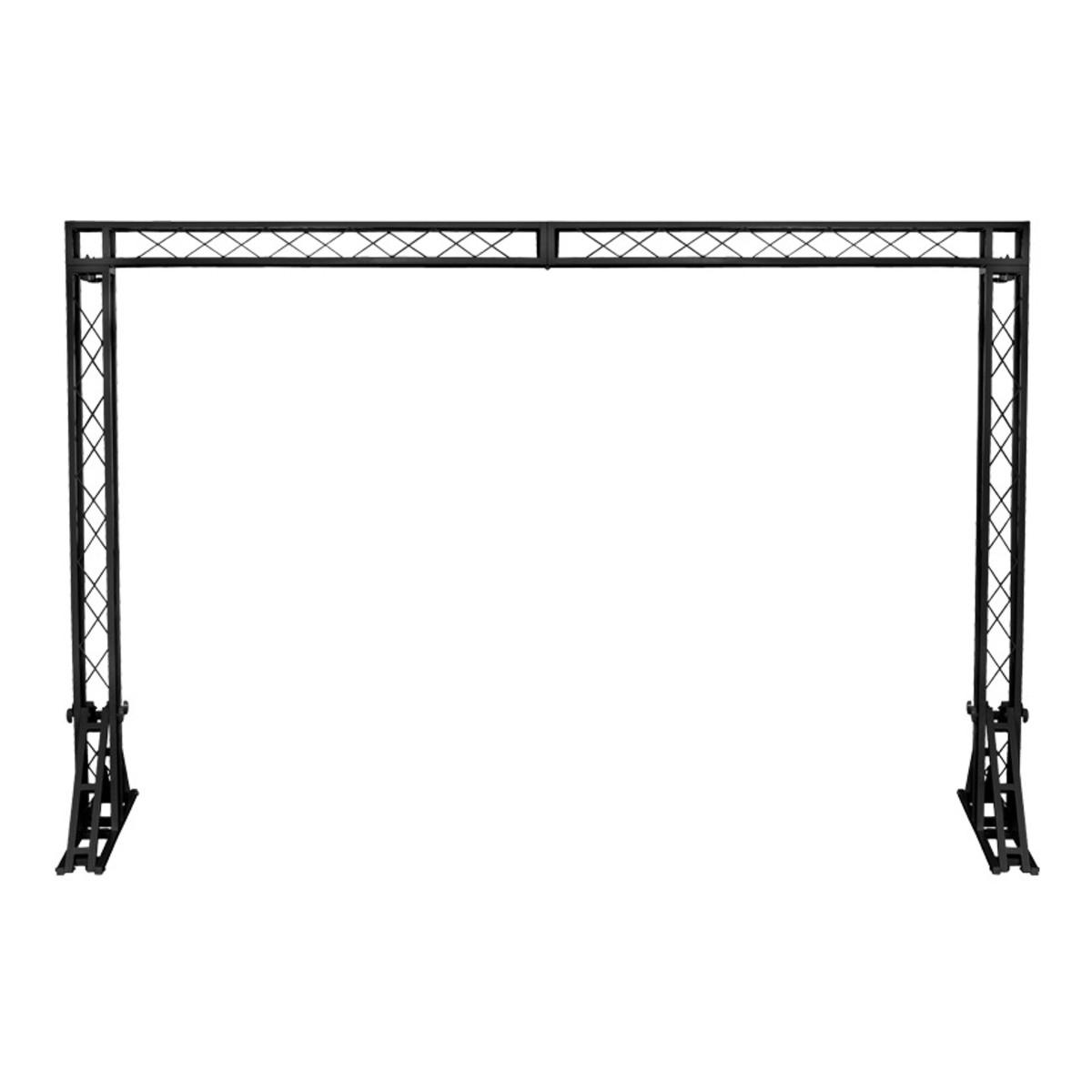 diy portable stage small stage lighting truss. Equinox 3 X 2m Truss System, Black Diy Portable Stage Small Lighting U