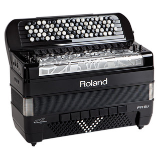 Roland FR-8x V-Accordion, Button-Type, Black