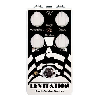 EarthQuaker Devices Levitation Reverb Top Panel