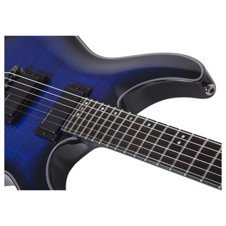 Schecter Blackjack SLS C-1 Active Electric Guitar, Blue