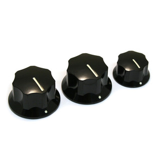 Allparts Knob Set for Jazz Bass