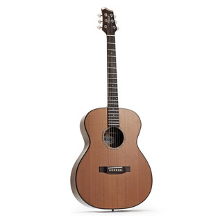 Ozark Small Body Acoustic Folk Guitar, Natural