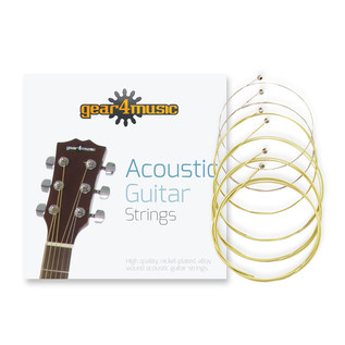 Acoustic Guitar Strings 85/15, Light