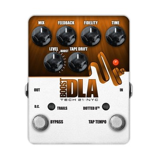 Tech 21 Boost DLA Delay Pedal