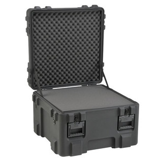 SKB R Series 2727-18 Waterproof Case (With Layered Foam) - Angled Open