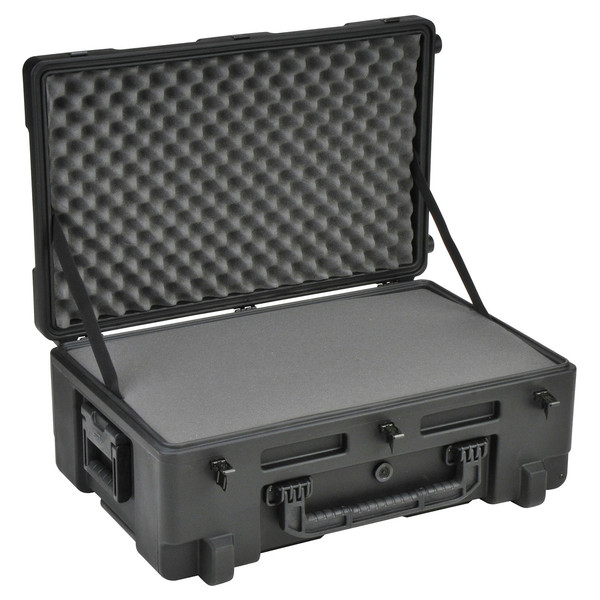 SKB R Series 2817-10 Waterproof Case (With Cubed Foam) - Angled Open