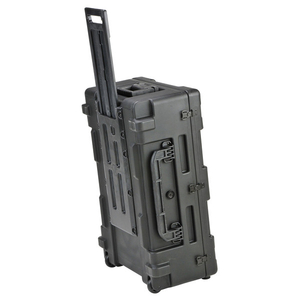 SKB R Series 2817-10 Waterproof Case (With Cubed Foam) - Angled With Handle