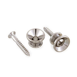 Allparts Strap Buttons, Nickel