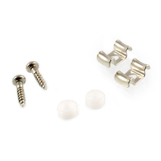 Allparts String Guides For Guitar, Nickel