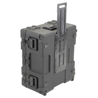 SKB R Series 3025-15 Waterproof Case (Empty) - Side View With Handle