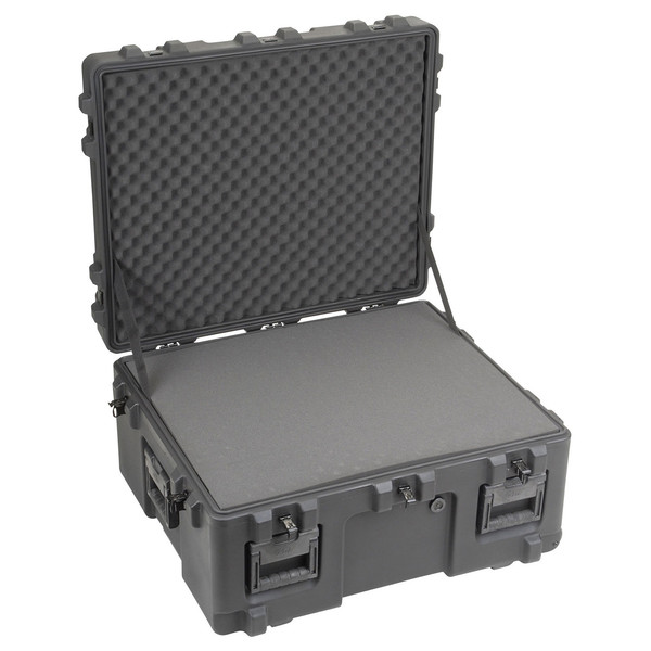 SKB R Series 3025-15 Waterproof Case (With Cubed Foam) - Angled Open
