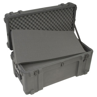 SKB R Series 3214-15 Waterproof Case (With Cubed Foam) - Angled Open