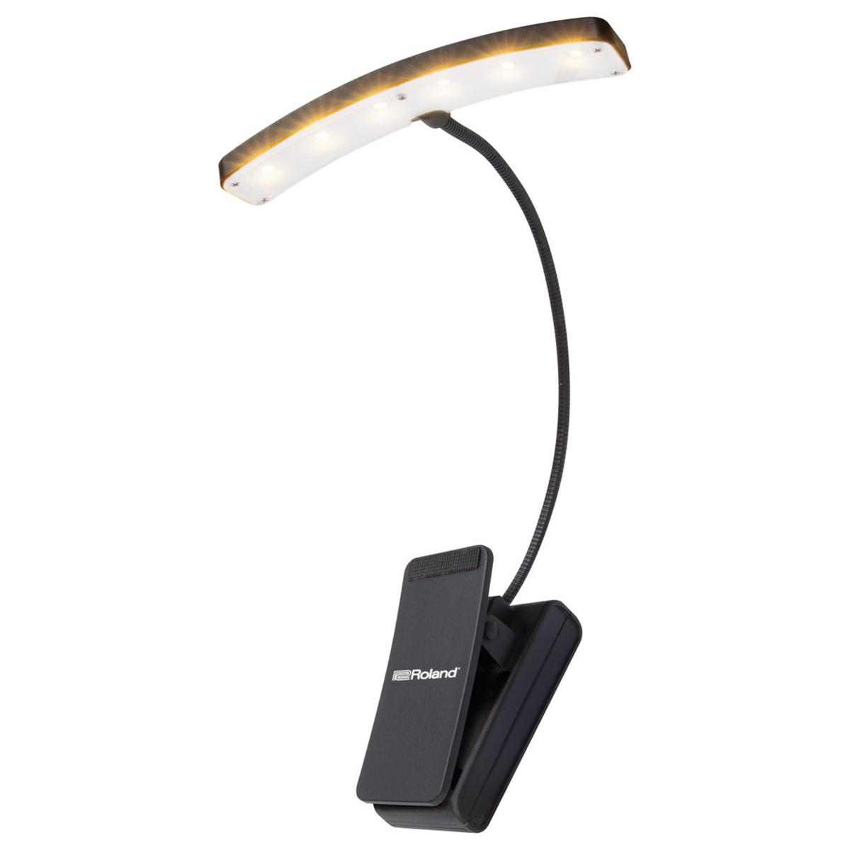 Roland Split Bar LED lampe med Klips, 10 Lyspærer | Gear4music