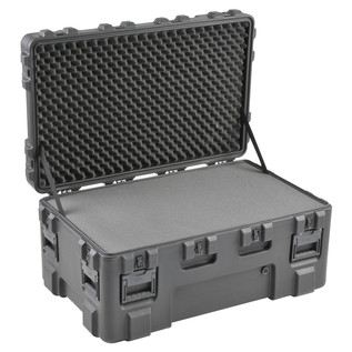 SKB R Series 4024-18 Waterproof Case (With Layered Foam) - Angled Open